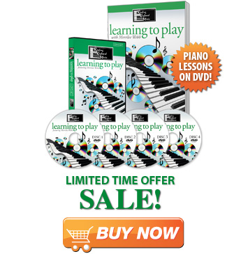 Buy the Learning to Play Piano Lessons Course on DVD
