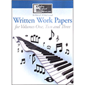 RKM Volumes 1, 2, and 3 Written Work Papers